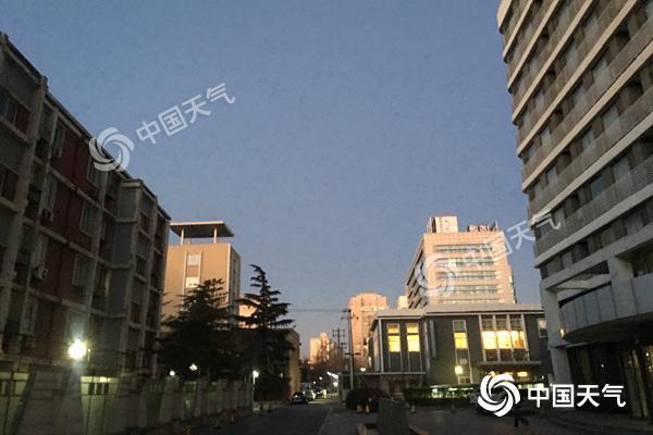 今天京城北风劲吹明起霾再度发展 1月上...