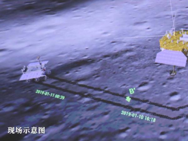 嫦娥四号与玉兔二号顺利完成互拍??嫦娥...
