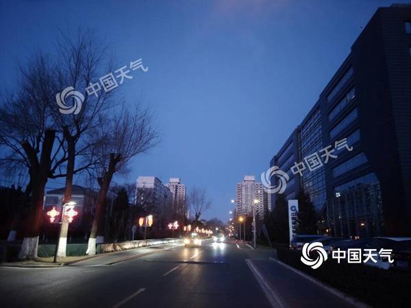 风寒效应明显 北京今天阵风6级夜间西部...