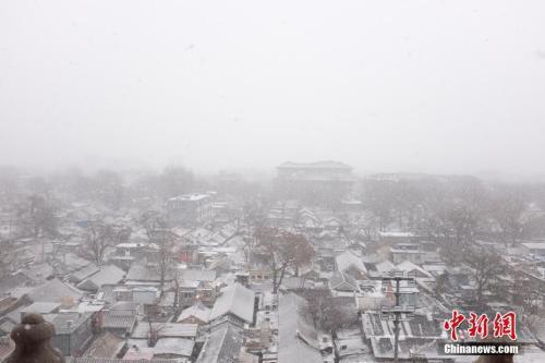 专家析京津冀降雪:未来两天将有更大强...