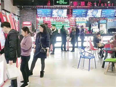 南阳市新春电影市场扫描