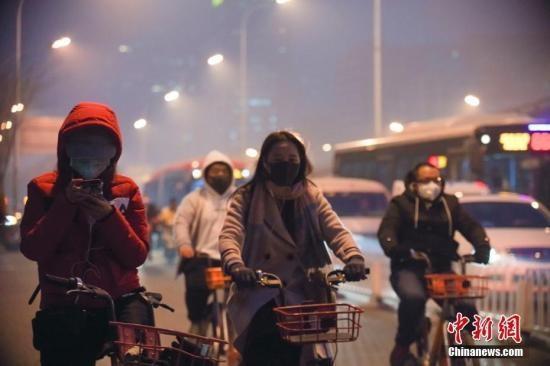 北京启动今年首个重污染橙警,预计本轮...
