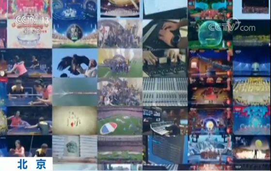 中央广播电视总台4K节目亮相两会