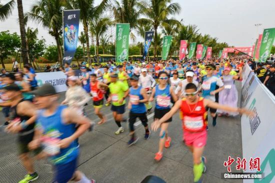 太火了!去年中国平均每天4.3场马拉松