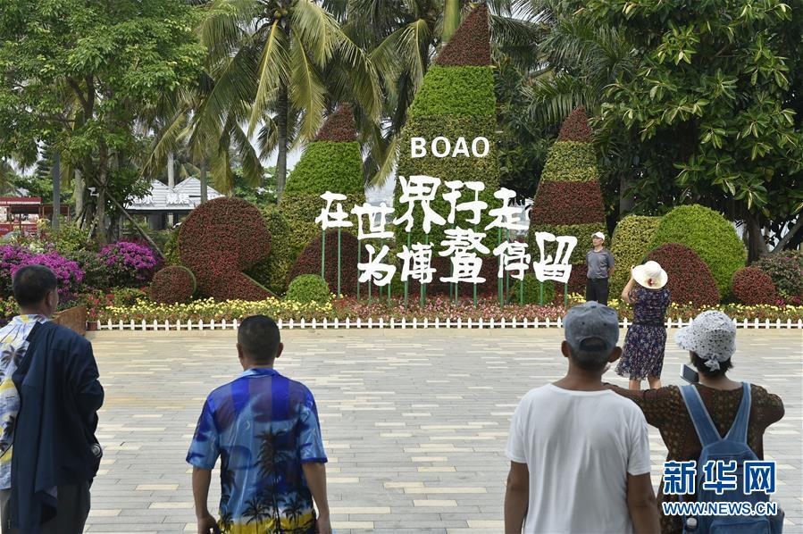 (社会)(2)博鳌早春游人众