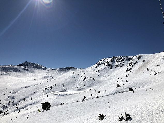 安道尔的完美滑雪场。