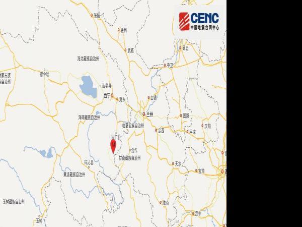 青海黄南州泽库县发生4.3级地震 网友:...