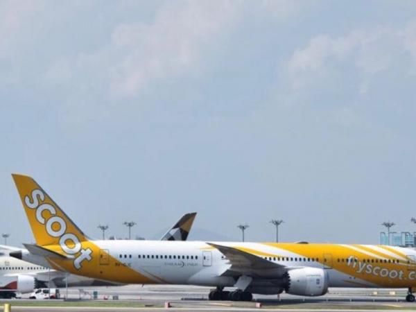 台北飞往新加坡酷航航班因轻微震动折返