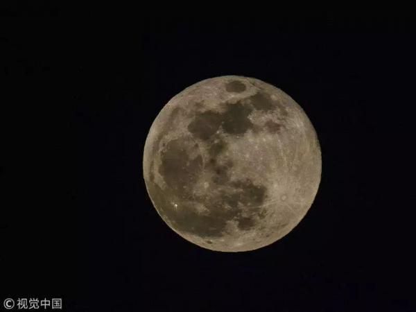 """今年最后一次""""超级月亮""""将于""""春分日..."""