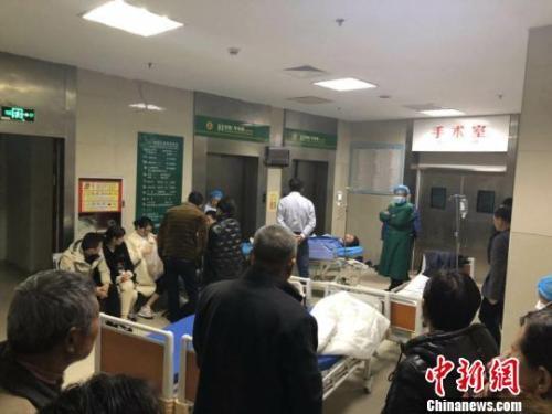 江苏省已医治640名盐城化工厂爆炸事故中...