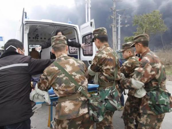 江苏盐城化工厂爆炸已救出31人 应急管...