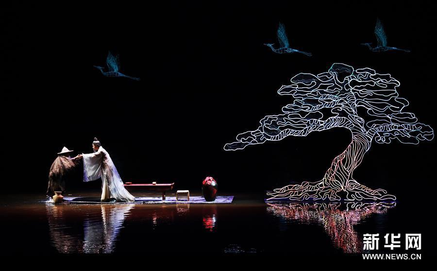 (文化)(6)新版大型诗词文化实景演出《归来三峡》重庆亮相