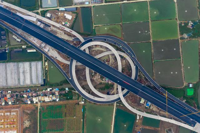 虎门二桥正式建成通车