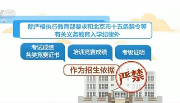 北京严管校外培训机构与招生入学挂钩 ...