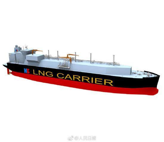 世界最大型LNG运输船,将由中国造!