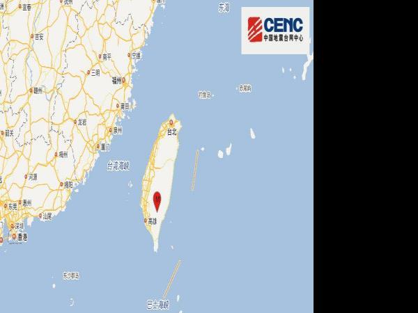 台湾台东县发生5.1级地震,昨日同时间段...