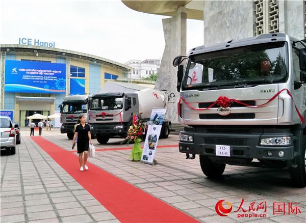 越南河内国际展览中心外景。刘刚 摄(资料图片)